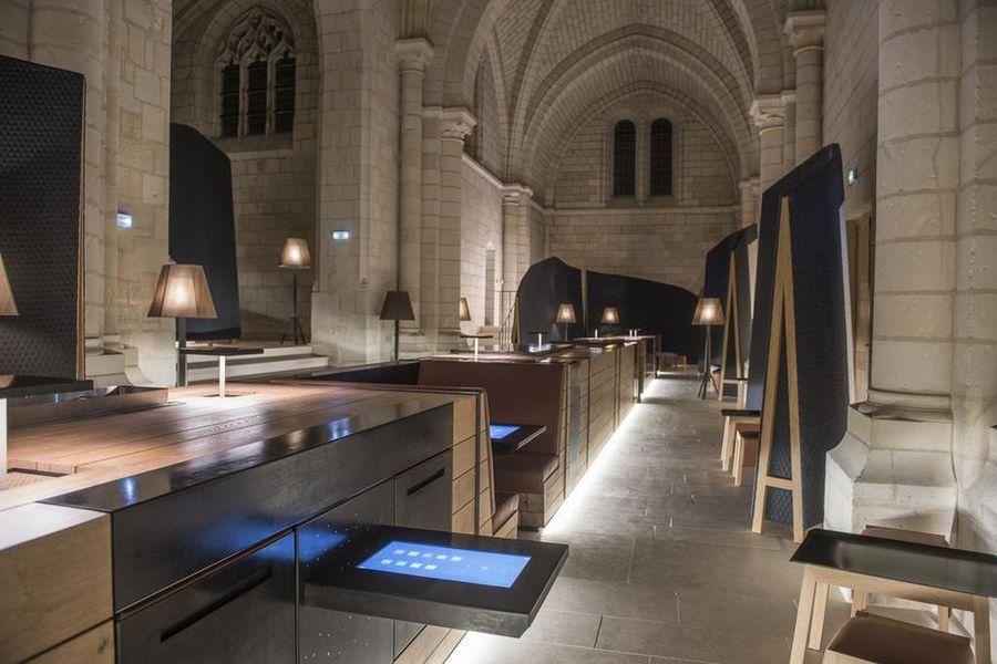 Abbaye de Fontevraud Espace de travail