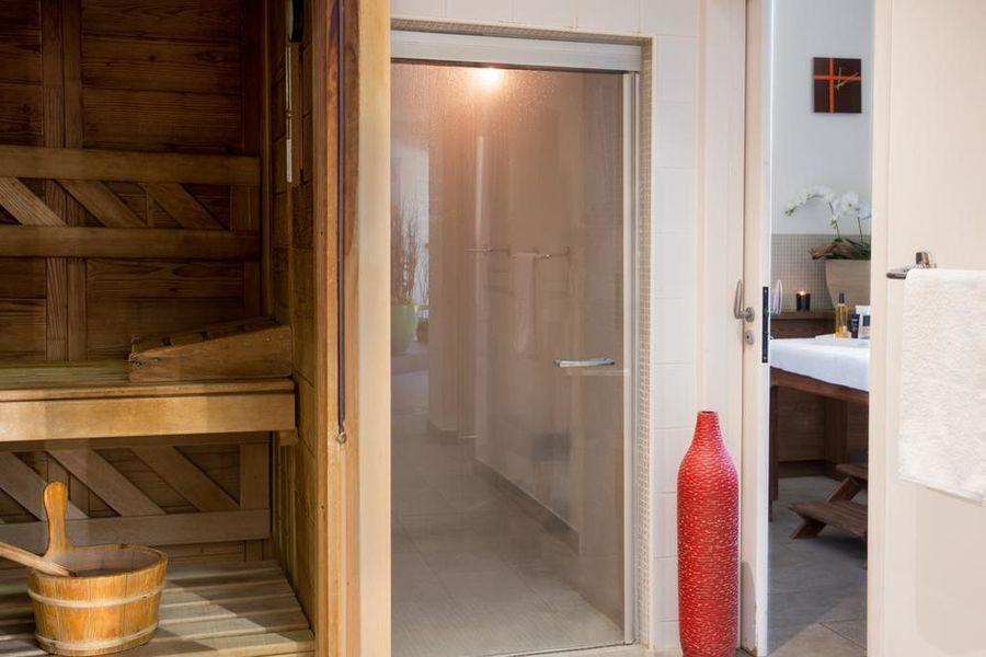 Abbaye des Capucins Spa & Resort sauna