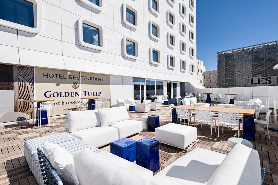 Golden Tulip Marseille Euromed **** Terrasse 2ème étage