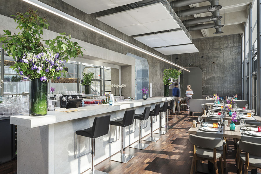 Rooftop Grande Arche Restaurant