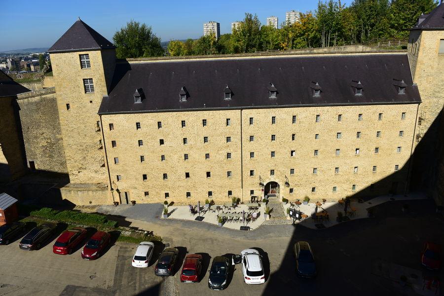 Hôtel Le Château Fort de Sedan **** Façade