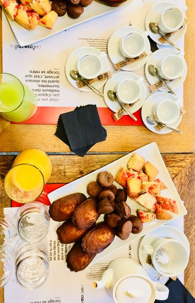 Labo M à la Mouette Rieuse Petit déjeuner