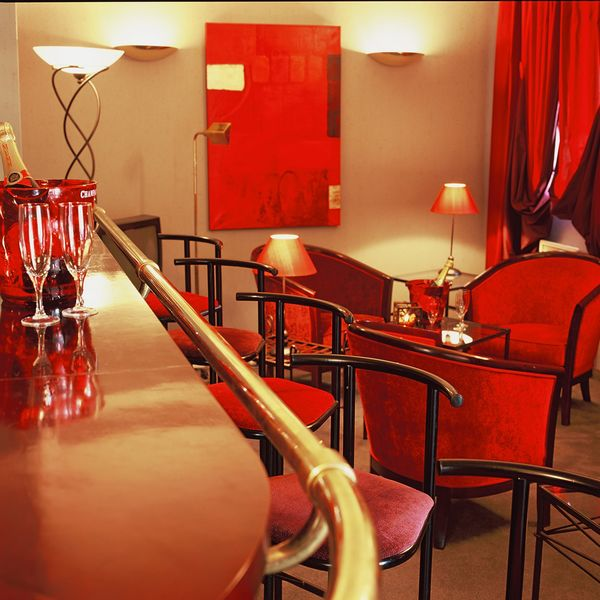 Hotel Les Jardins d'Adalric*** Bar