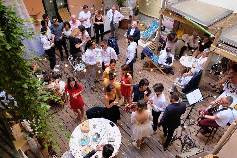ho36 Lyon Opéra  *** Événement dans le patio