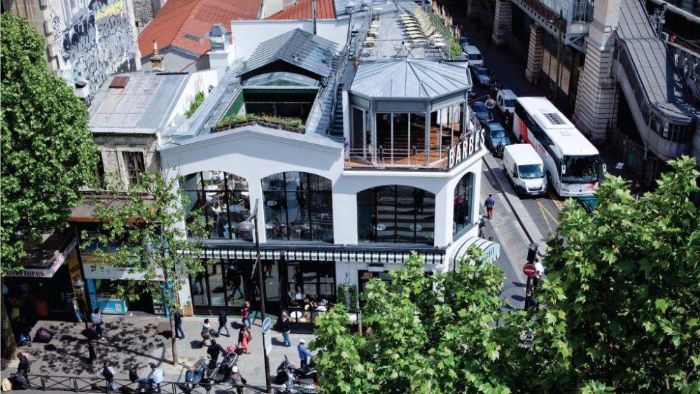 Brasserie Barbès Extérieur