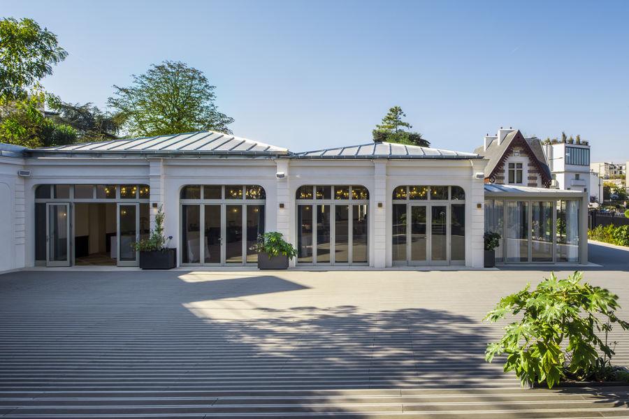 Pavillon des Princes La terrasse