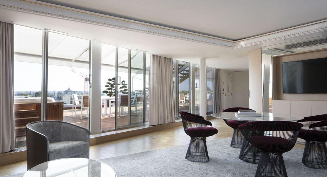 Hôtel Bowmann Salon