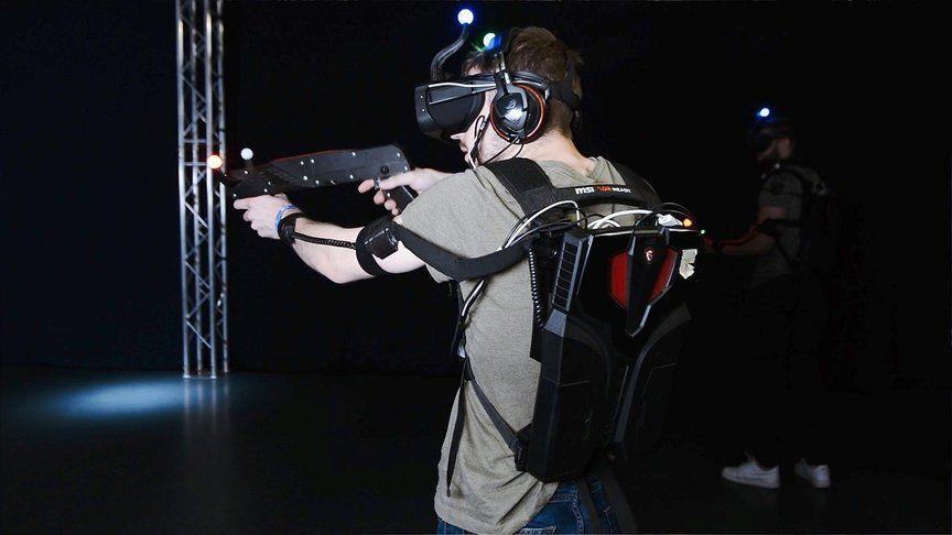 Aerokart Laser-game en réalité virtuelle