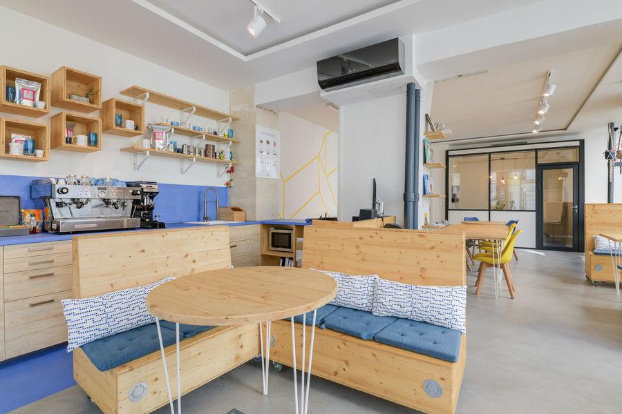 La Galerie Café Coworking Accueil