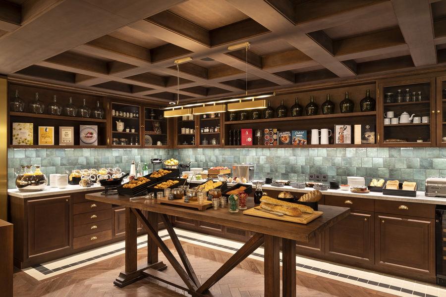 St-Alban Hotel & Spa Buffet petit déjeuner