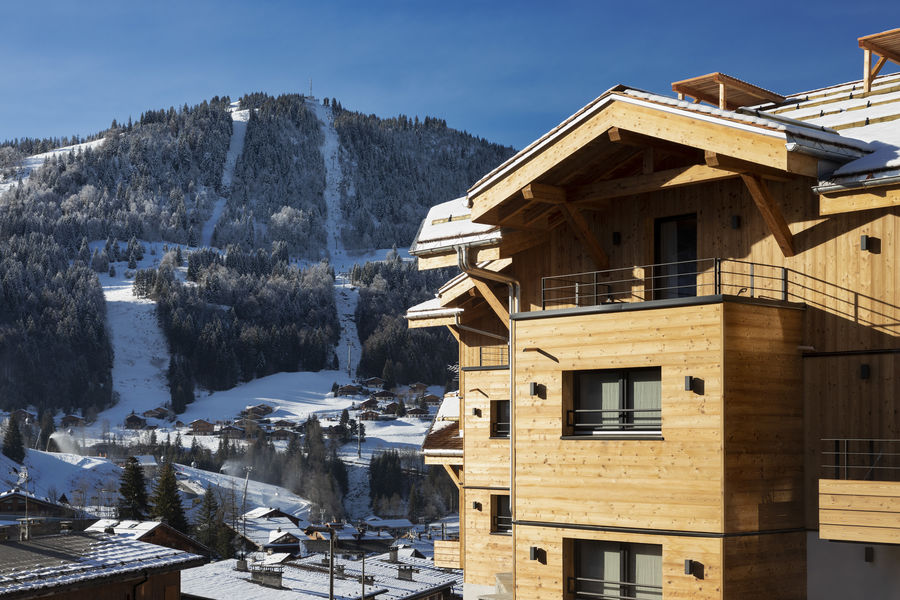St-Alban Hotel & Spa St-Alban Hotel & Spa - Vue surles pistes