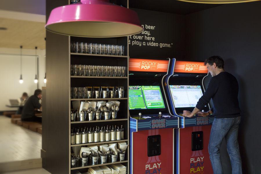 RockyPop Hotel Jeux d'arcade