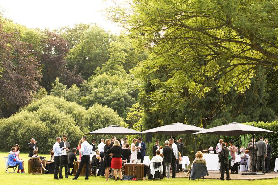 Château de Méridon Cocktail en terrasse