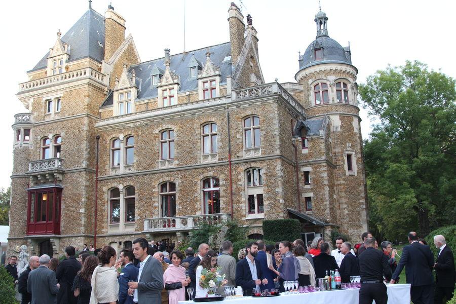 Château de Méridon Cocktail dans le parc