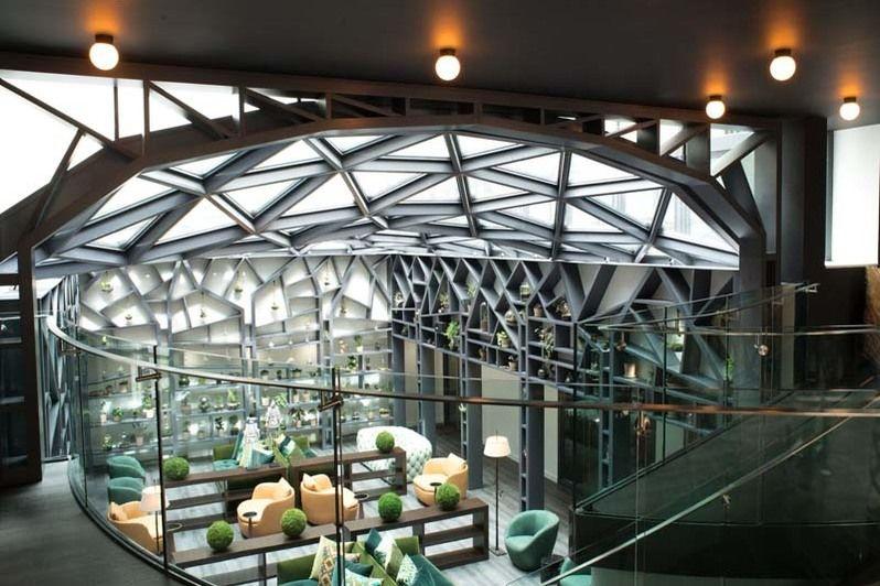 Kwerk Haussmann Lobby et salle de récéption