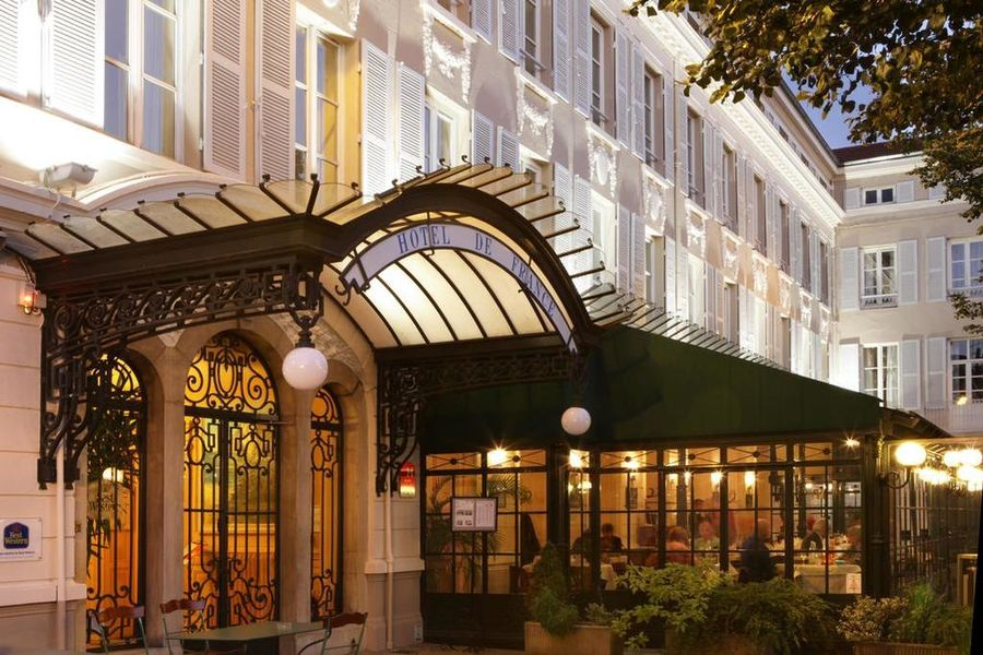 Best Western Hotel de France (Bourg-en-Bress) Accueil