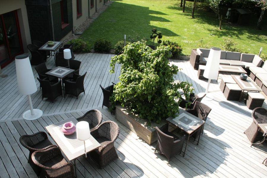 Hotel Antares - Le Spa Honfleur *** Terrasse