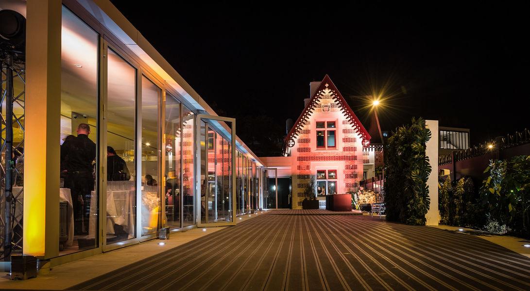 Pavillon des Princes Terrasse de nuit - © Libre Comme l'Art
