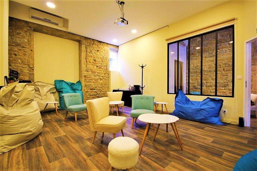 Salle de réunion cosy Lyon Part Dieu / Brotteaux D'un Siège à l'Autre - Espace de réunion