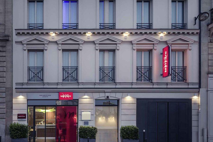 Mercure Paris Gare du Nord la Fayette Extérieur