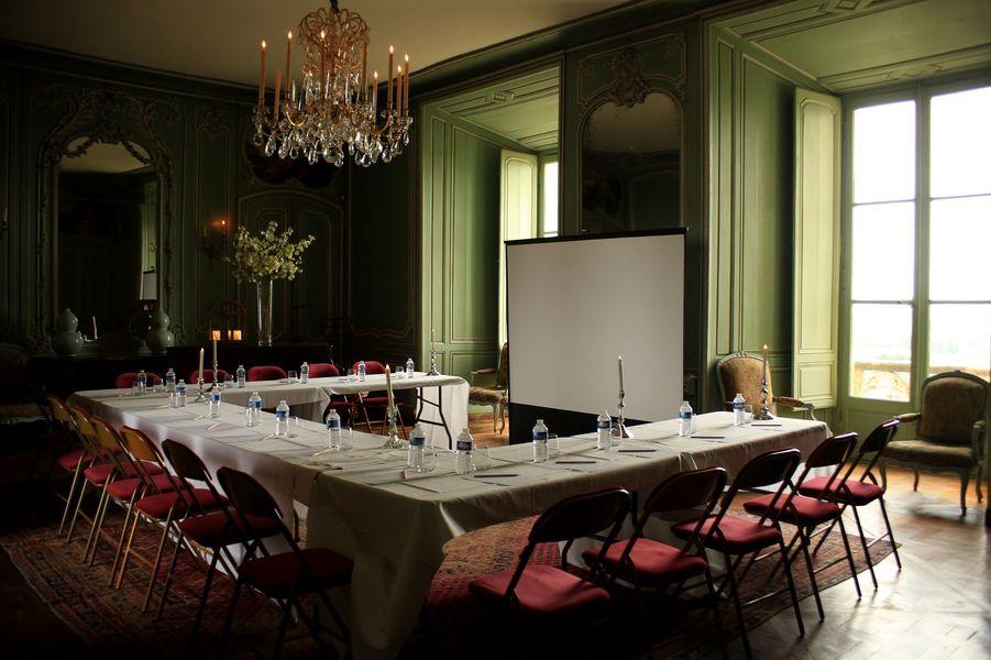 Château de Montmirail Grand Salon