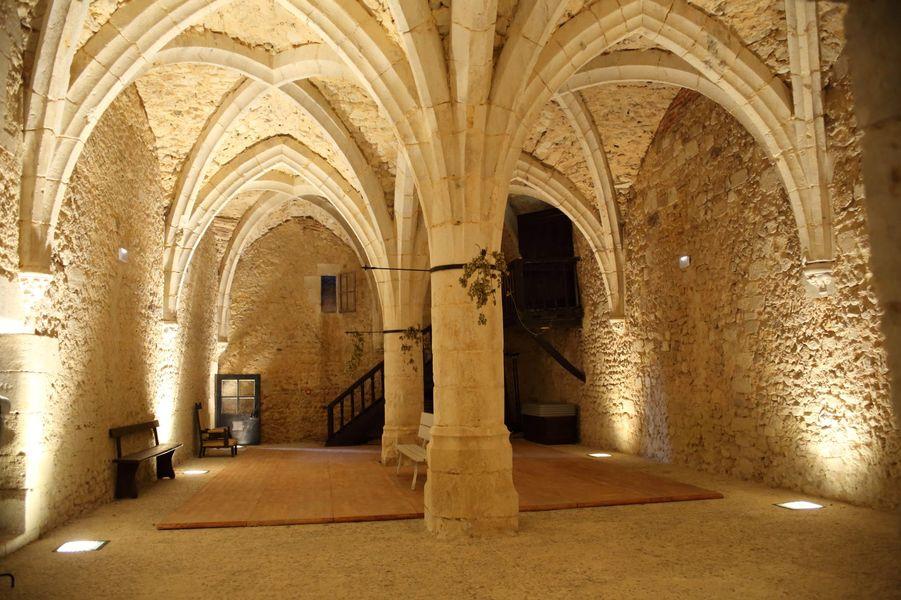 Château de Montmirail Salle d'armes
