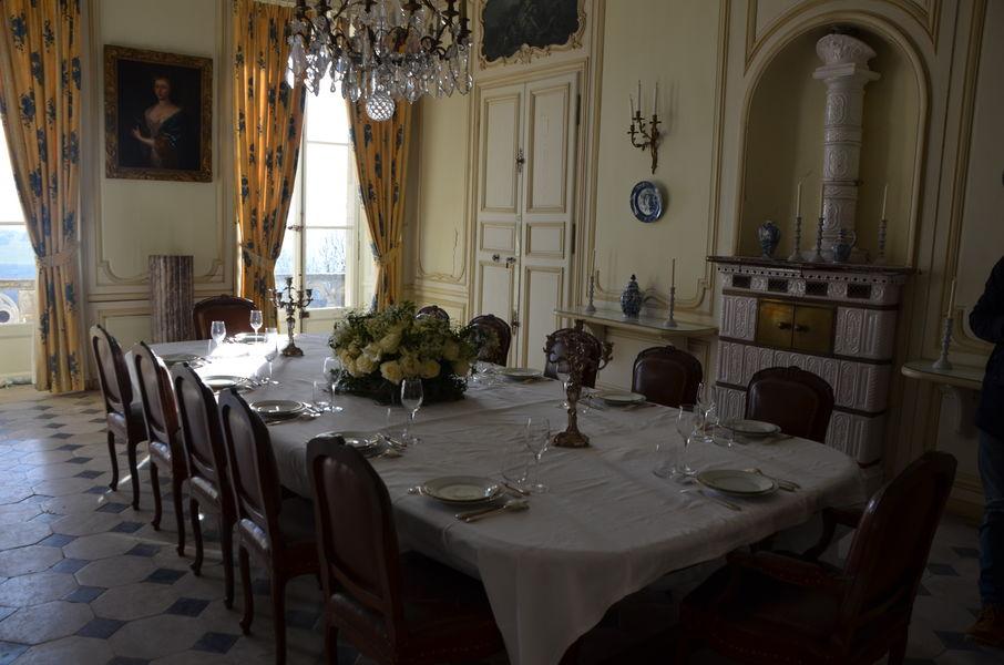 Château de Montmirail Salle à manger