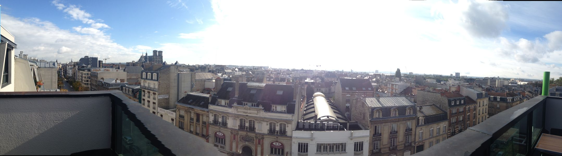Holiday Inn Reims - City Centre Vue rooftop