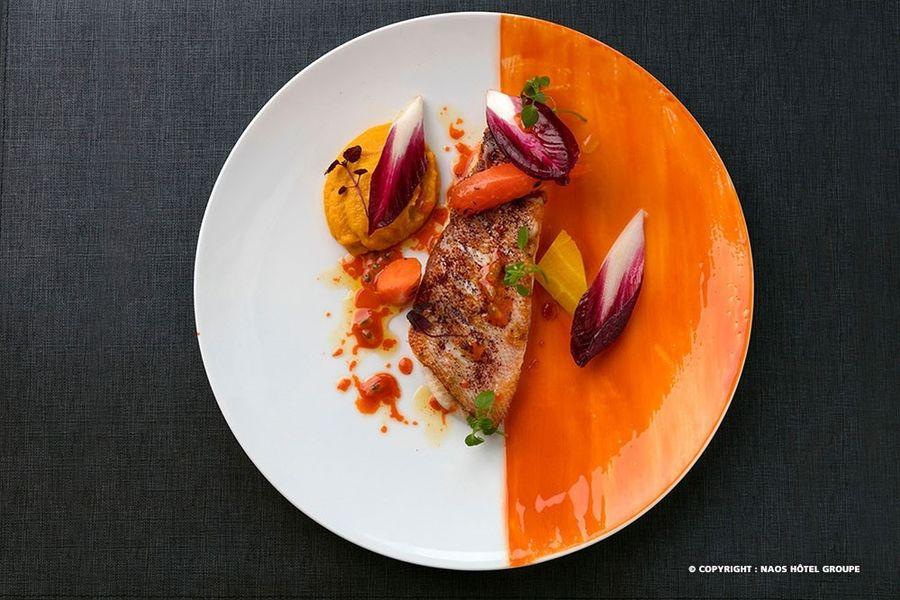 Hampton by Hilton Clichy  Plat concocté par la Chef Elodie Jego