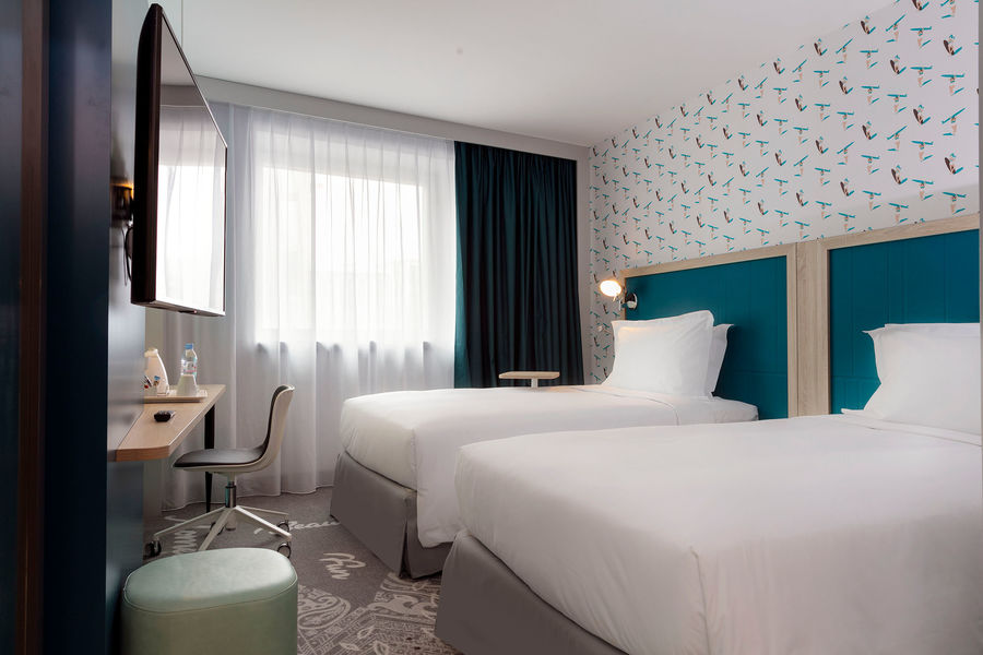 Hampton by Hilton Clichy  Chambre Twin