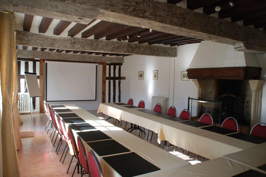 Château de Champvallins Salle de séminaire