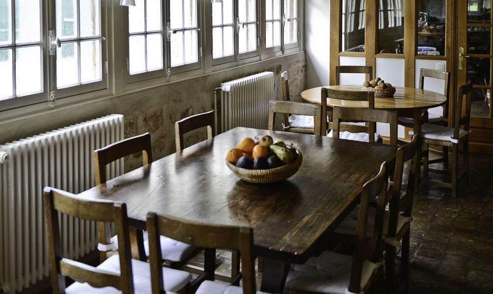 La Maison du Miroir Cuisine - Salle à manger