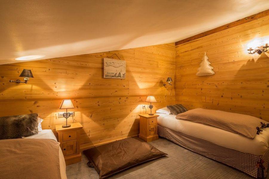 Hôtel les Grands Montets Chambre