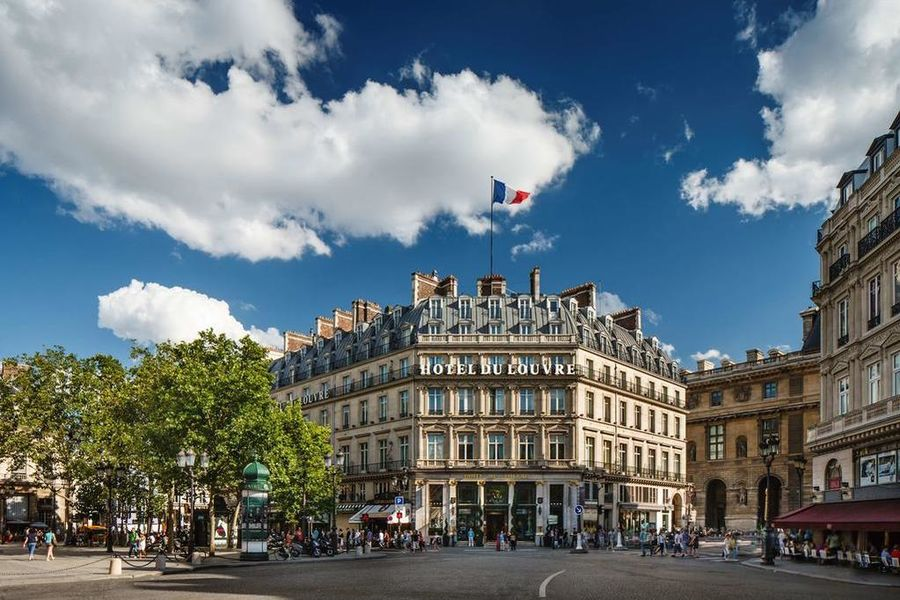 Hyatt Hôtel du Louvre ***** Façade