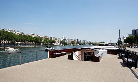 Bateau River Palace Pont supérieur