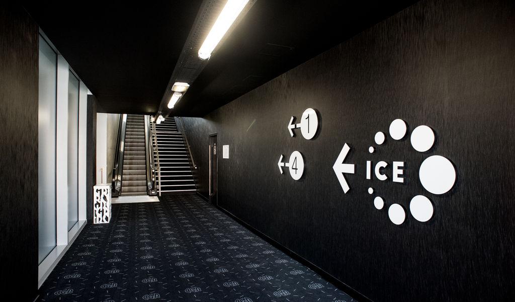 CGR Paris-Lilas Accès salles