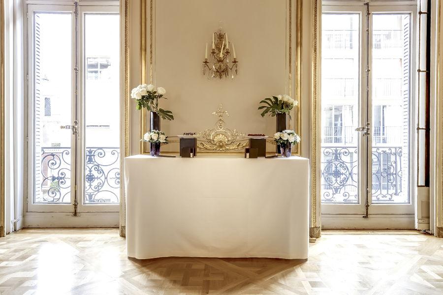 La Maison des Centraliens ***** Cocktail salon Empire
