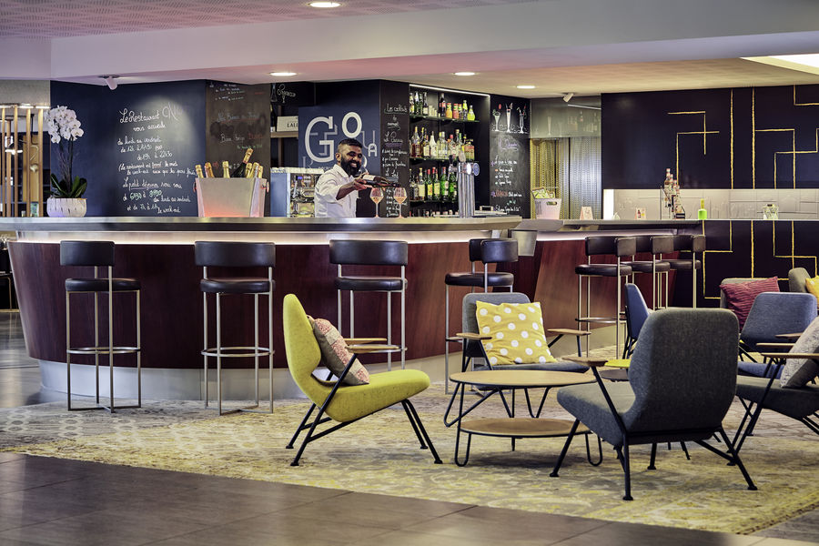Hôtel Novotel Marne-la-Vallée Collégien **** Bar de l'hôtel