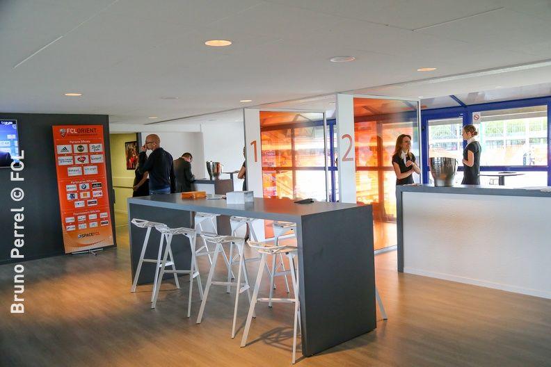 Stade du FC Lorient / Centre d'entrainement du FC Lorient Des Loges ouvertes, modernes et accuillantes