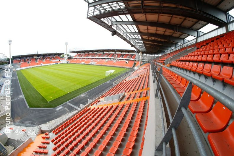 Stade du FC Lorient / Centre d'entrainement du FC Lorient Un lieu unique, atypique