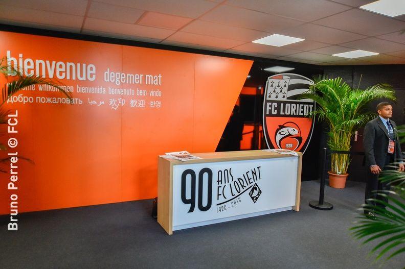 Stade du FC Lorient / Centre d'entrainement du FC Lorient Un lieu de reception par définition...