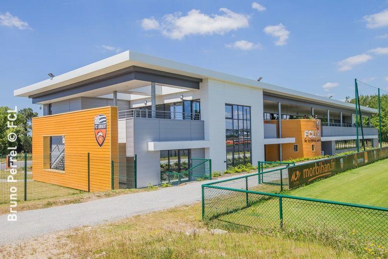 Centre d'entrainement du FC Lorient  Un centre d'entrainement professionnel moderne