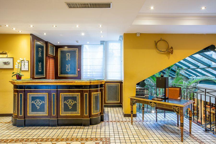 Villa Beaumarchais **** Accueil