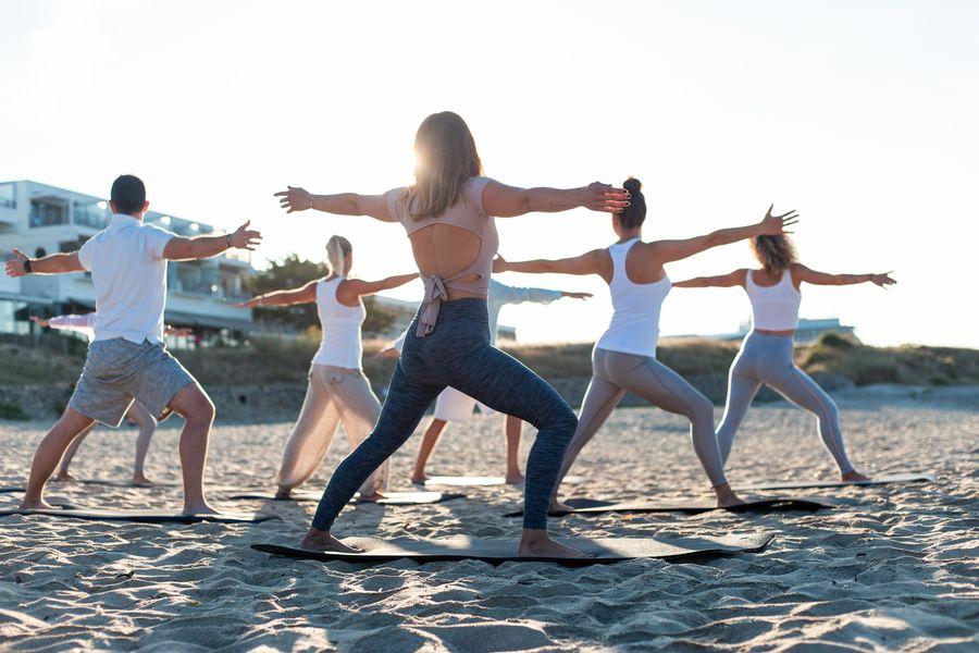 Sofitel Quiberon Thalassa Sea & Spa ***** Cours de fitness sur la plage