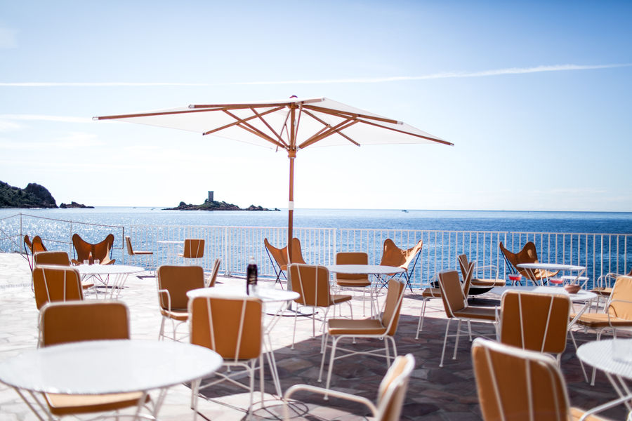 Hôtel Les Roches Rouges Restaurant La Page