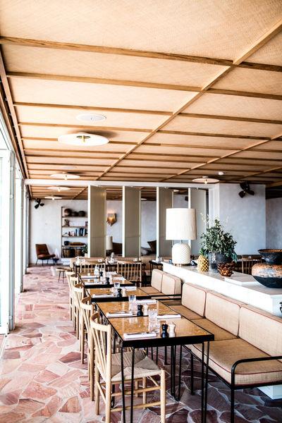 Hôtel Les Roches Rouges Restaurant La Plage
