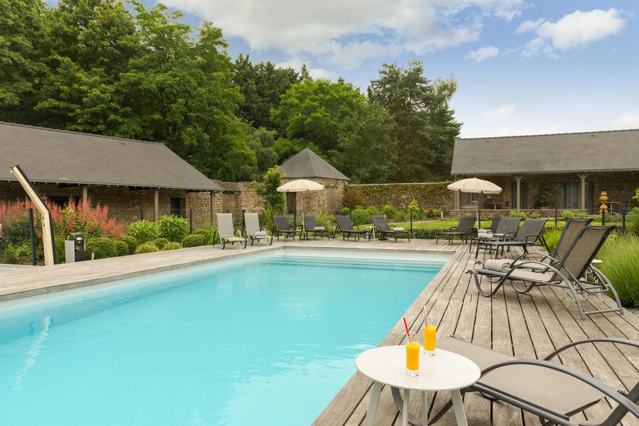 Hotel The Originals de l'Abbaye 22