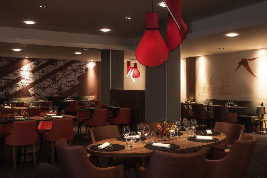 MERCURE Paris CDG Airport & Convention  Restaurant L'Escale