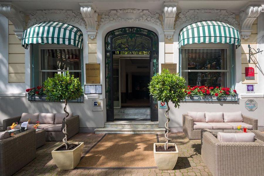 Hotel The OriginalsVichy Les Nations Façade