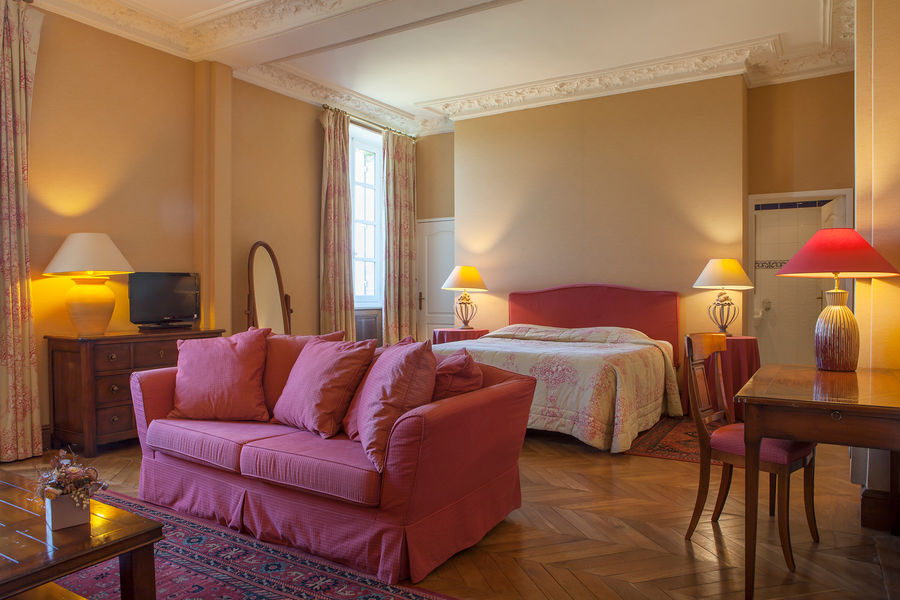 Hotel The Originals Relais du Château d'Arche **** 20